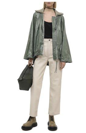 Женская куртка diamond 2 moncler 1952 MONCLER GENIUS зеленого цвета, арт. G1-094-1A705-00-C0677 | Фото 2