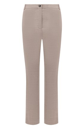 Женские шерстяные брюки ACNE STUDIOS бежевого цвета, арт. AK0355 | Фото 1