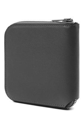 Женские кожаное портмоне ACNE STUDIOS темно-серого цвета, арт. CG0106/W   Фото 2
