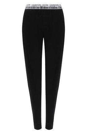 Женские брюки CALVIN KLEIN черного цвета, арт. QS6576E | Фото 1