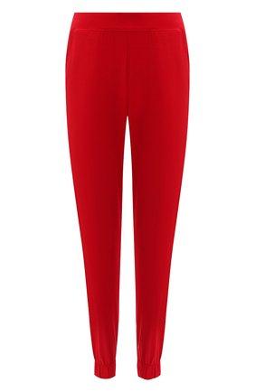 Женские брюки CALVIN KLEIN красного цвета, арт. QS6560E | Фото 1