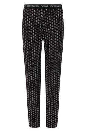 Женские брюки CALVIN KLEIN черного цвета, арт. QS6434E | Фото 1