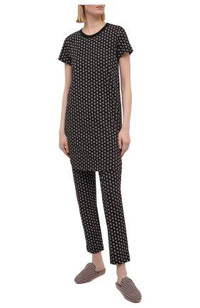 Женские брюки CALVIN KLEIN черного цвета, арт. QS6434E | Фото 2