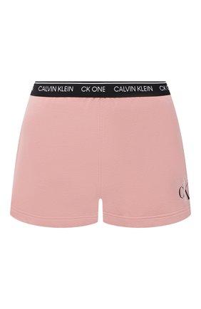 Женские шорты CALVIN KLEIN розового цвета, арт. QS6428E | Фото 1