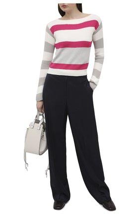 Женский хлопковый пуловер LORENA ANTONIAZZI разноцветного цвета, арт. P21113BM020/2559   Фото 2