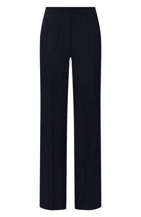 Женские брюки из вискозы THEORY темно-синего цвета, арт. K1106207 | Фото 1
