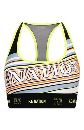 Женский бра-топ P.E. NATION разноцветного цвета, арт. 20PE4C055 | Фото 1