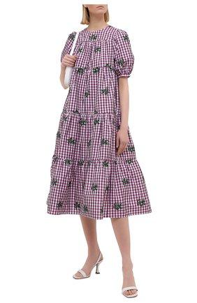 Женское платье REDVALENTINO светло-розового цвета, арт. VR3VAW30/5LM | Фото 2