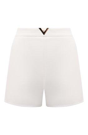 Женские хлопковые шорты VALENTINO белого цвета, арт. VB3RF1M075Y | Фото 1