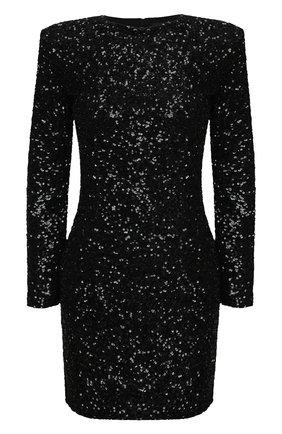 Женское платье с пайетками RETROFÊTE черного цвета, арт. PF20-2883 | Фото 1