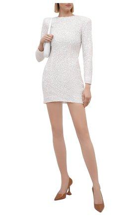 Женское платье с пайетками RETROFÊTE белого цвета, арт. PF20-2883 | Фото 2