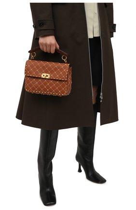 Женская сумка valentino garavani rockstud spike VALENTINO коричневого цвета, арт. VW2B0122/JXM | Фото 2