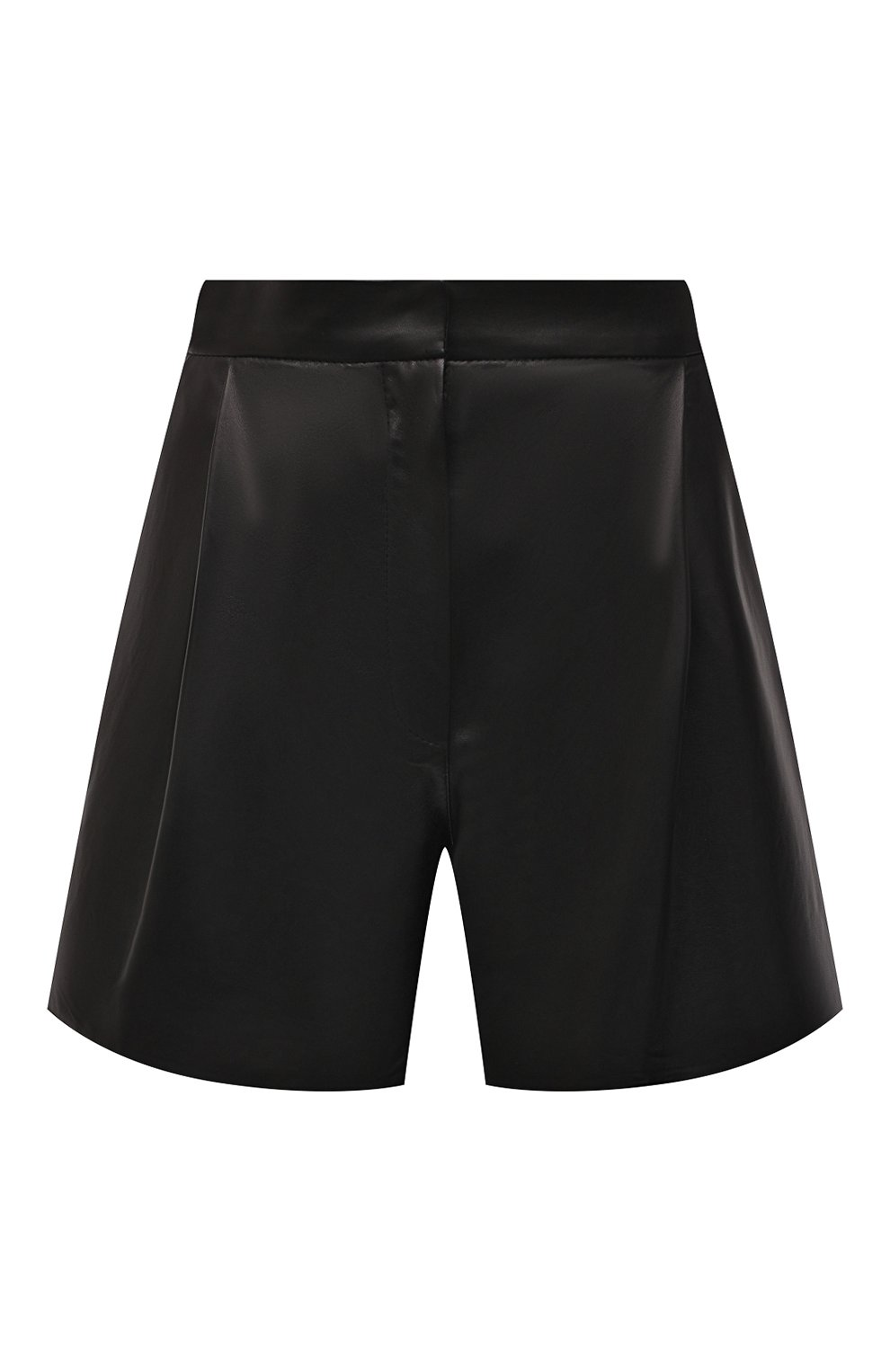 Женские кожаные шорты DROME черного цвета, арт. DPD7013P/D400P | Фото 1