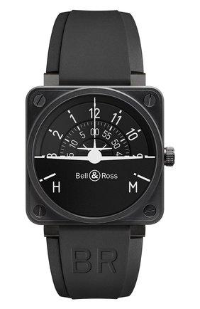 Мужские часы turn coordinator BELL & ROSS черного цвета, арт. BR0192-TURNCOOR   Фото 1