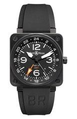 Мужские часы gmt 24h BELL & ROSS бесцветного цвета, арт. BR0193-GMT | Фото 1