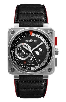 Мужские часы b-rocket BELL & ROSS черного цвета, арт. BR0194-B-ROCKET   Фото 1