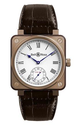 Мужские часы instrument de marine BELL & ROSS белого цвета, арт. BR01-CM-203 | Фото 1