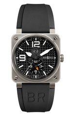 Мужские часы gmt 24h BELL & ROSS бесцветного цвета, арт. BR03-51GMT | Фото 1