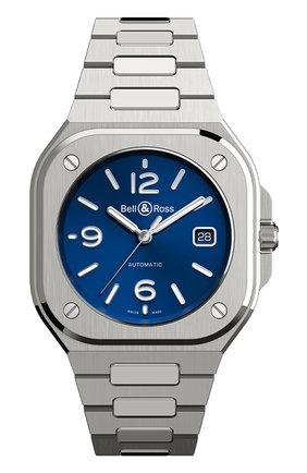 Мужские часы br 05 BELL & ROSS синего цвета, арт. BR05A-BLU-ST/SST | Фото 1