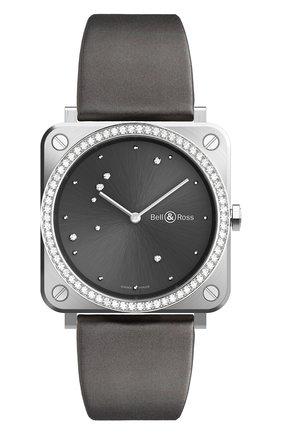 Женские часы eagle grey diamonds BELL & ROSS бесцветного цвета, арт. BRS-ERU-ST-LGD/SCA | Фото 1