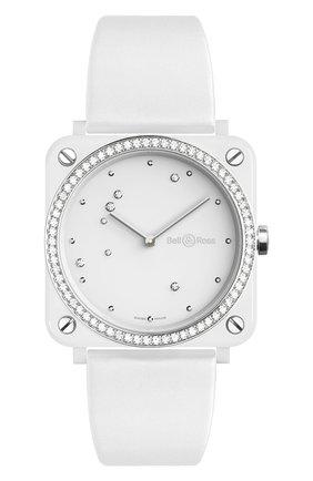 Женские часы white diamond eagle diamonds BELL & ROSS бесцветного цвета, арт. BRS-EW-CE-LGD/SF | Фото 1