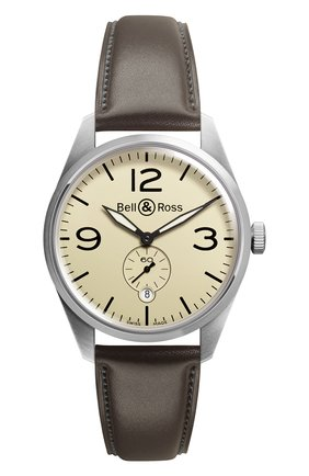 Мужские часы original beige BELL & ROSS бежевого цвета, арт. BRV123-BEI-ST/SCA | Фото 1