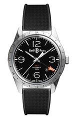 Мужские часы gmt 24h BELL & ROSS бесцветного цвета, арт. BRV123-BL-GMT/SRB | Фото 1