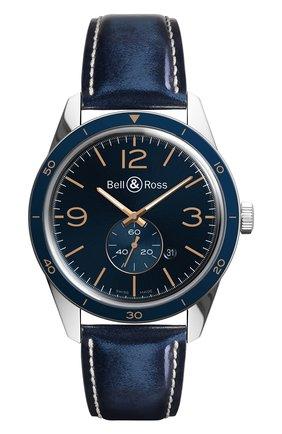 Мужские часы aeronavale BELL & ROSS синего цвета, арт. BRV123-BLU-ST/SCR | Фото 1