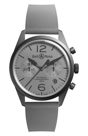 Мужские часы commando BELL & ROSS серого цвета, арт. BRV126-COMMANDO | Фото 1