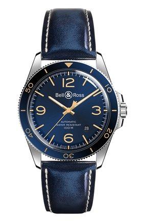 "Мужские часы ""aeronavale"" BELL & ROSS синего цвета, арт. BRV292-BU-G-ST/SCA | Фото 1"