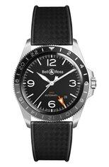 Мужские часы vintage gmt BELL & ROSS бесцветного цвета, арт. BRV293-BL-ST/SRB | Фото 1