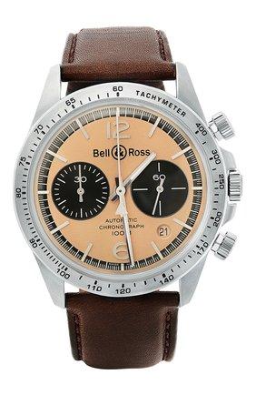 "Мужские часы ""v2-94 bellytanker"" BELL & ROSS бежевого цвета, арт. BRV294-BT-ST/SCA | Фото 1"