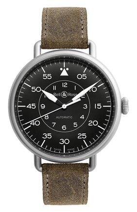 Мужские часы military BELL & ROSS черного цвета, арт. BRWW192-MIL/SCA | Фото 1