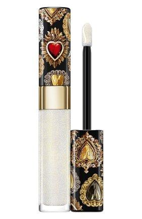 Сияющий лак для губ shinissimo, 010 diamond fever DOLCE & GABBANA бесцветного цвета, арт. 8960450DG | Фото 1
