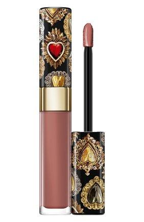 Сияющий лак для губ shinissimo, 130 sweet honey DOLCE & GABBANA бесцветного цвета, арт. 8960650DG | Фото 1