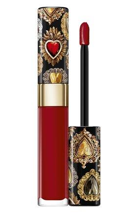 Сияющий лак для губ shinissimo, 630 #dglover DOLCE & GABBANA бесцветного цвета, арт. 8961750DG | Фото 1