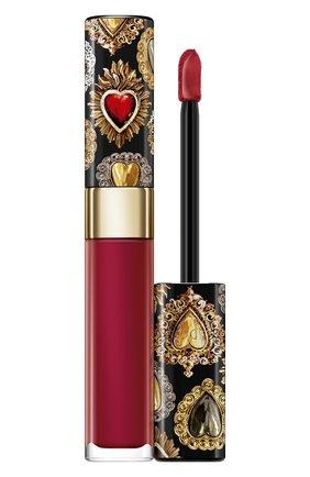 Сияющий лак для губ shinissimo, 640 #dgamore DOLCE & GABBANA бесцветного цвета, арт. 8961850DG | Фото 1