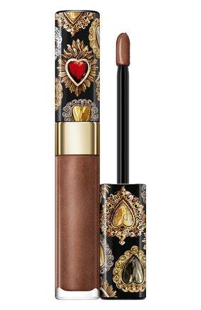 Сияющий лак для губ shinissimo, 390 bronze feeling DOLCE & GABBANA бесцветного цвета, арт. 8962250DG | Фото 1