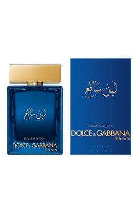 Мужской парфюмерная вода the one men luminous night DOLCE & GABBANA бесцветного цвета, арт. 30700699DG | Фото 2