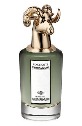 Мужской парфюмерная вода the inimitable william penhaligon PENHALIGON'S бесцветного цвета, арт. 5056245008993 | Фото 1
