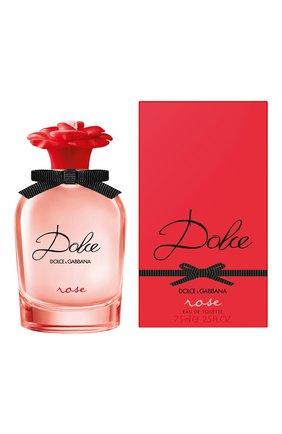 Туалетная вода dolce rose DOLCE & GABBANA бесцветного цвета, арт. 30700731DG | Фото 2