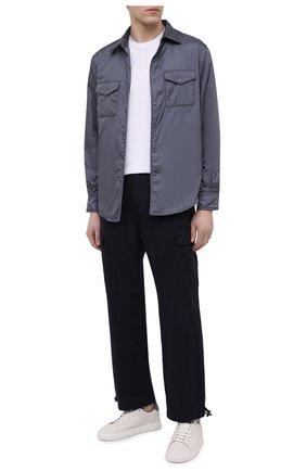 Мужская утепленная куртка ASPESI серого цвета, арт. S1 I I029 7961 | Фото 2