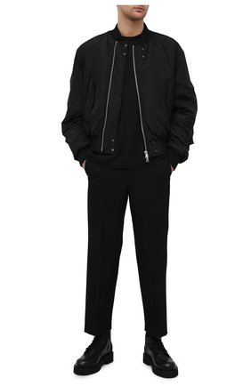 Мужская хлопковая футболка AMIRI черного цвета, арт. MJLT004-001 | Фото 2