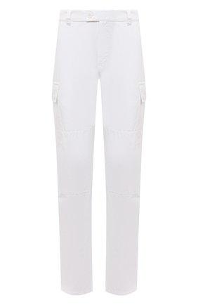 Мужские хлопковые брюки-карго ASPESI белого цвета, арт. S1 A CP31 G178 | Фото 1