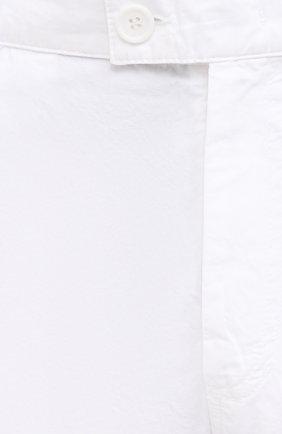 Мужские хлопковые брюки-карго ASPESI белого цвета, арт. S1 A CP31 G178   Фото 5 (Силуэт М (брюки): Карго; Длина (брюки, джинсы): Стандартные; Случай: Повседневный; Материал внешний: Хлопок; Стили: Кэжуэл)
