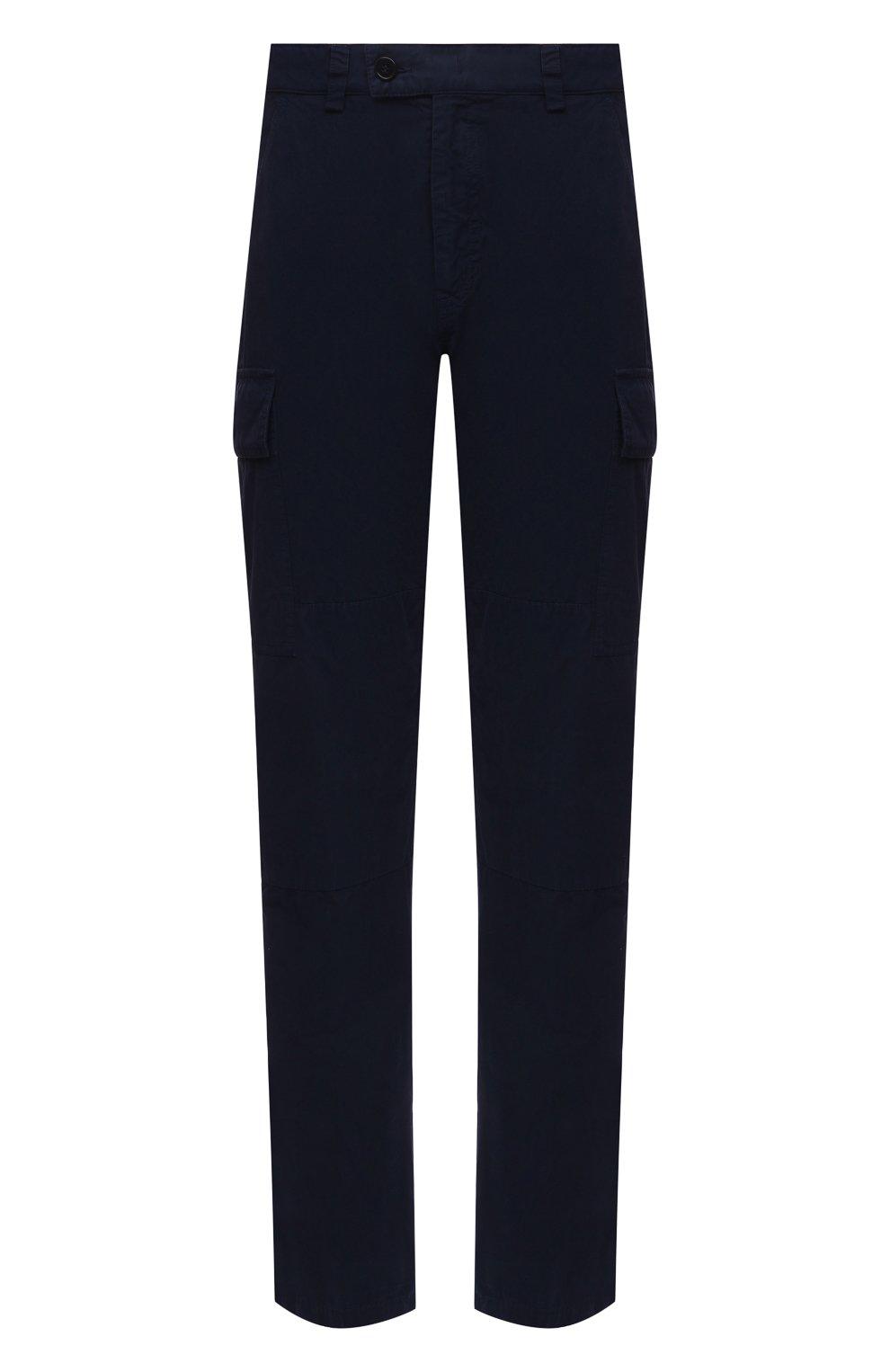 Мужские хлопковые брюки-карго ASPESI темно-синего цвета, арт. S1 A CP31 G178 | Фото 1 (Силуэт М (брюки): Карго; Длина (брюки, джинсы): Стандартные; Случай: Повседневный; Материал внешний: Хлопок; Стили: Кэжуэл)