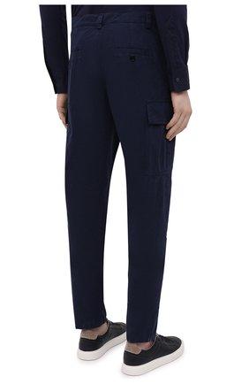 Мужские хлопковые брюки-карго ASPESI темно-синего цвета, арт. S1 A CP31 G178 | Фото 4 (Силуэт М (брюки): Карго; Длина (брюки, джинсы): Стандартные; Случай: Повседневный; Материал внешний: Хлопок; Стили: Кэжуэл)