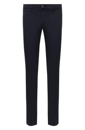 Мужские хлопковые брюки JACOB COHEN темно-синего цвета, арт. B0BBY C0MF 08165-V/55 | Фото 1