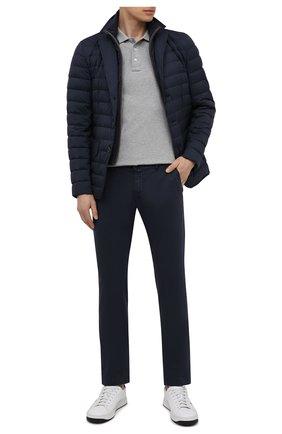 Мужские хлопковые брюки JACOB COHEN темно-синего цвета, арт. B0BBY C0MF 08165-V/55 | Фото 2