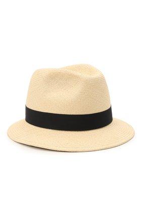 Мужская шляпа ERMENEGILDO ZEGNA бежевого цвета, арт. Z9I13/B9P | Фото 1